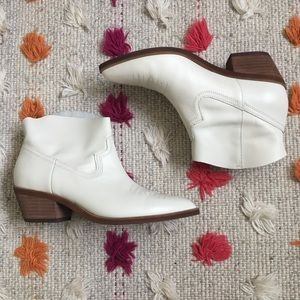 White Treasure & Bond booties